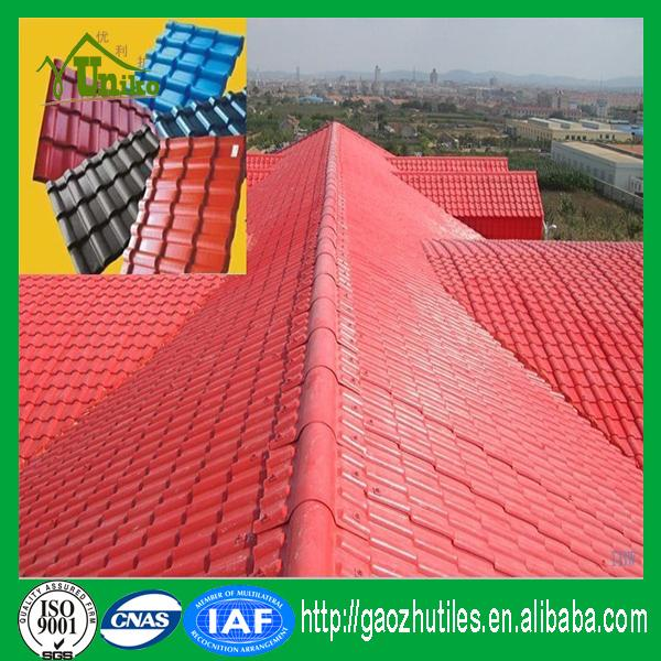 color stable man-made extruded good quality japanese flat roof tiles for house