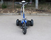 adult three wheel folding electric tricycle