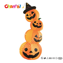 Giant Halloween Decoration Inflatable Pumpkin Halloween Pumpkin Family For Party Decoration