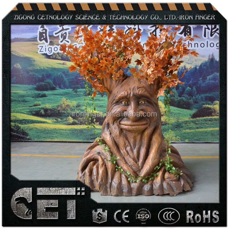 Cet-A-1469 artificial simulation tree life size fake talking tree