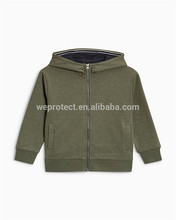 High end quality <strong>children</strong> zippered <strong>hoodies</strong> wholesale with low MOQ
