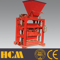 low investment fly ash brick making machine in india price QTJ4-35 concrete block machine