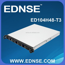 ED104H48-T3-E 1U Rackmount PC Server Case with 4 Bay SATA/SAS Backplane