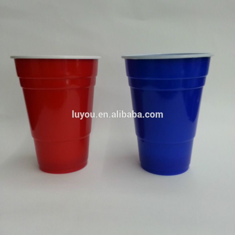 disposable 425ml/16oz color plastic cup