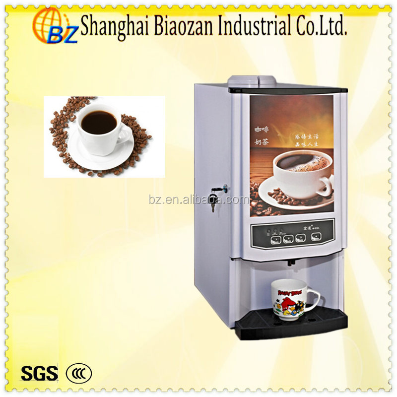 Multi-purposes beverage machine for coffee, tea and 3in1