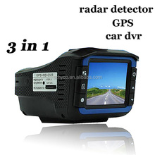 3 in 1 Russia radar detector dash cam with car dvr camera