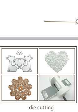 Embossing Cutting Dies Metal Stencil for Cardmaking