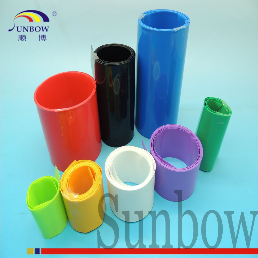 Eco-friendly Flexible Insulation PVC Raw Material Heat Shrink Tubing