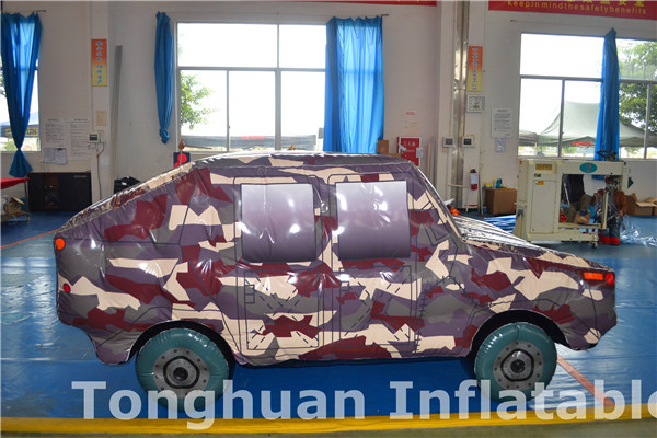 giant inflatable model car for advertising and event