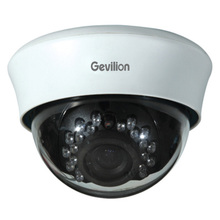 720P Varifocal 2.8-12mm Vandal proof Dome IP POE Camera Onvif IR Plastic Dome Camera P1RI100-U