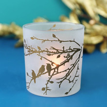 DIY wax fragrance glass candle holder Home decoration