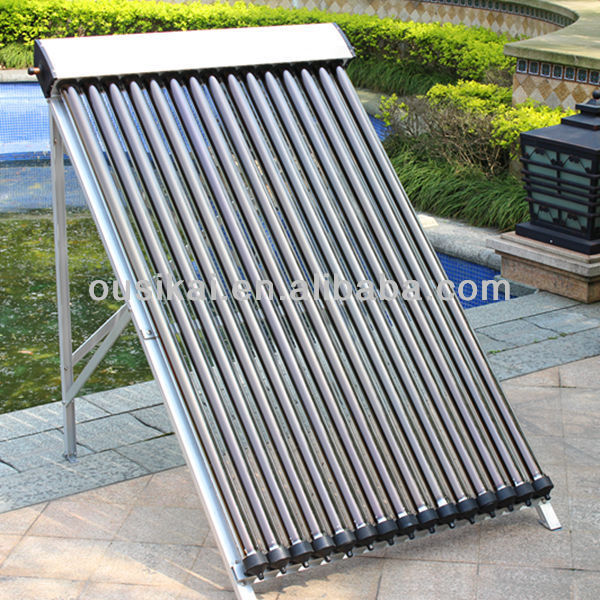 18tubes evacuated tube solar collector for split solar water heater system