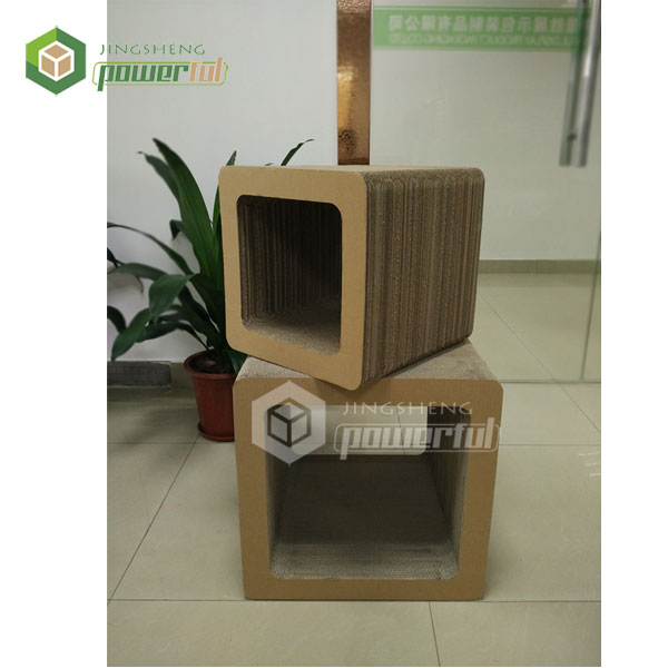 high quality corrugated cardboard cat sratching board/cat house