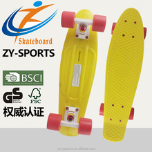 Hot sale 22 and 27 inch plastic skateboard CE approval
