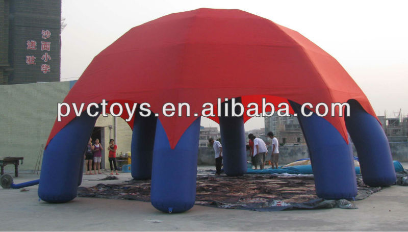24m air beam inflatable dome