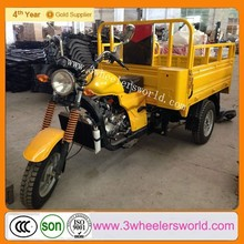 heavy duty loading 250cc semi-enclosed cargo trike motorcycle
