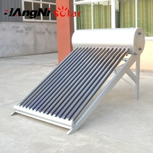 Energy Saving Solar Water Heater With Galvanized Steel Frame For Home Use