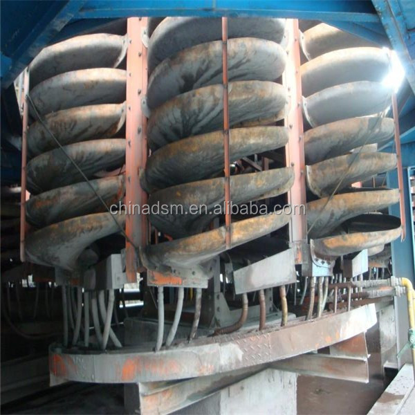 Best sale spiral separator / Gold Separator machine gravity spiral chute