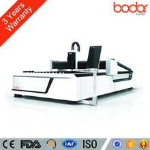 Open Table 500W Sheet Metal Fiber Laser Cutter For Cutting Metal Machine With WIFI Control