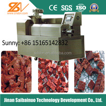 Low invest soya fake meat making machine