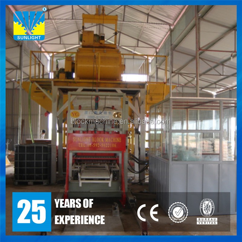 High quality used automatic concrete block machine for sale