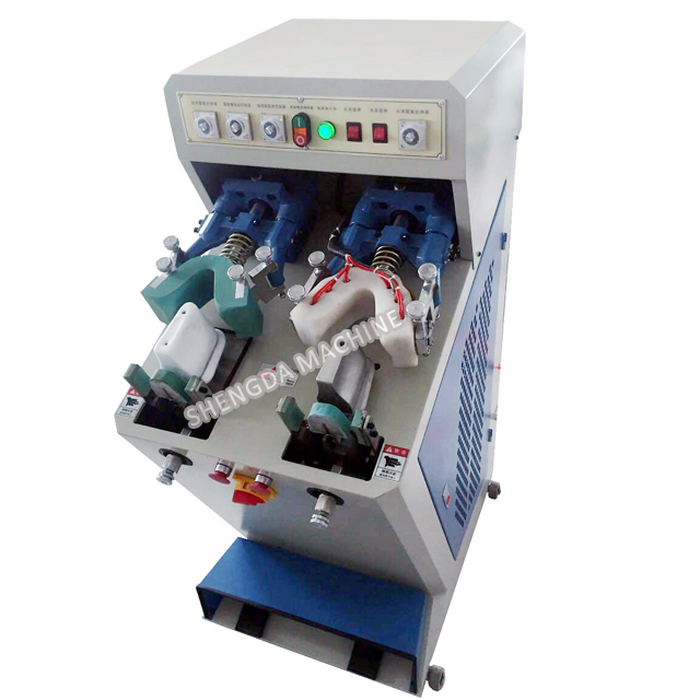 One Coolers and Heaters Shoe Counter Moulding Machine