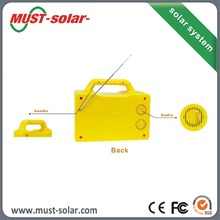 solar power system with solar panel 20w solar generator price for all kind of mobilephones with 5 led lights