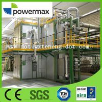 wood gasification electricity efficiency