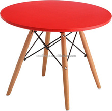 Best Selling Furniture Products Colorful Plastic Round Table,Round Dining Table