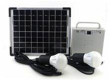 solar energy system used in solar energy home appliances products with phone charger