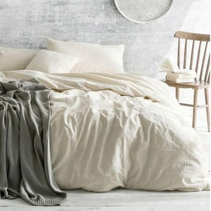 100% Stone washed French linen/flax bedsheets/bedding sets