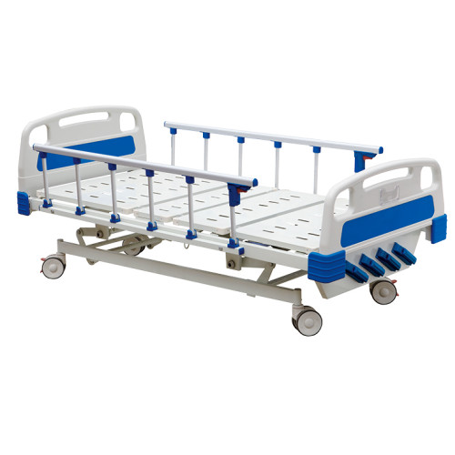 BS-837 Five Function Manual Hospital Bed ICU Hospital Bed Patient Bed
