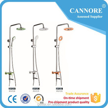 Modern China Shower Set With Plastic shower Head