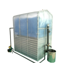 Swedge Treatment Family Size Portable Biogas Plant