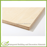 9mm 12mm 15mm 18mm laminated birch plywood