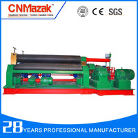 galvanized sheet angle rolling machine Mechanical 3-Roller Symmetrical Rolling Machine