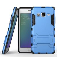 Hybrid Armor Case with Stand Tough Mobile Phone cases Cover Dual Layer TPU Fundas Coque Shockproof case For Samsung Z3