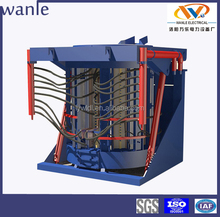 5 ton industrial electric induction furnace supplier for melting aluminum scrap