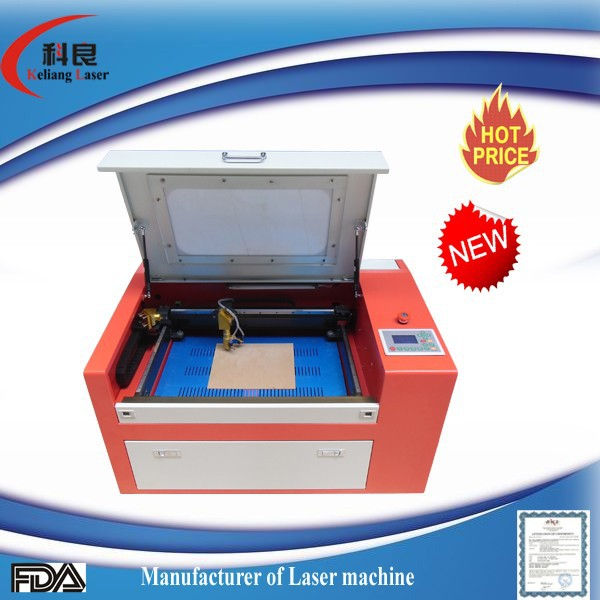 50w Honeycomb platform, Ruida control laser engraving machine with low price looking for agent KL-350