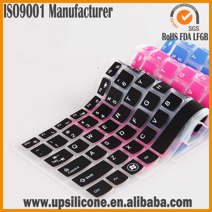 silicon rubber keyboard covers tablet keyboard cover rainbow keyboard cover
