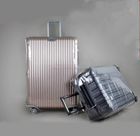 Thick PVC wear - resistant waterproof dust transparent luggage sets suitcase luggage / Trolley Case