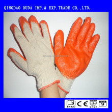 oil-resistant working gloves,nitrile or latex coated glove CE EN 388