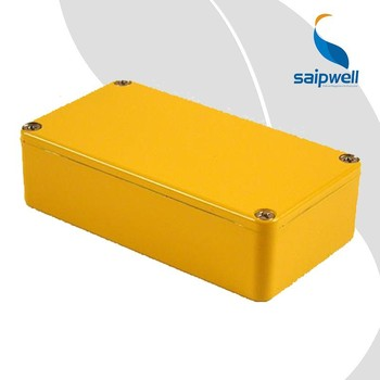 SAIP/SAIPWELL 1590B Electrical Aluminium Enclosure Rectangle Musical Instrument Effector