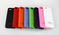 Wholesale 2200mAh Portable Charger Case External Power Backup Battery For iPhone 5 5S
