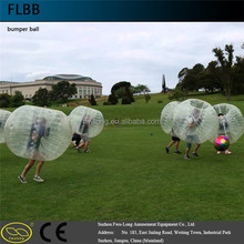 Super Bumper Ball Fun Time 1.5x1.3m for human size bubble football