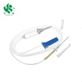 sterilized disposable infusion set without filter with CE and ISO