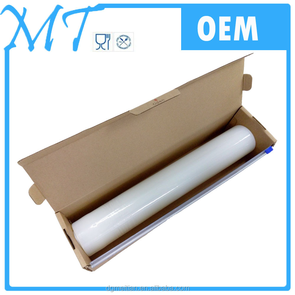 Hot sale and good quality Chinese factory produce PE Cling Film for food grade