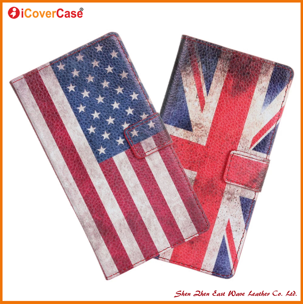 Factory Wholesale Metro Flag Mobile Phone Covers For Sony Xperia z1 L39H