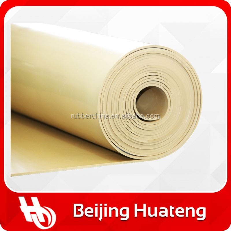 Buffed Finish Surface Available China Factory Price Red Natural Rubber Sheet