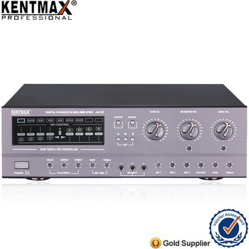 Luxury Quality Guangzhou Kentmax 200 Watt Karaoke Key Control Amplifier